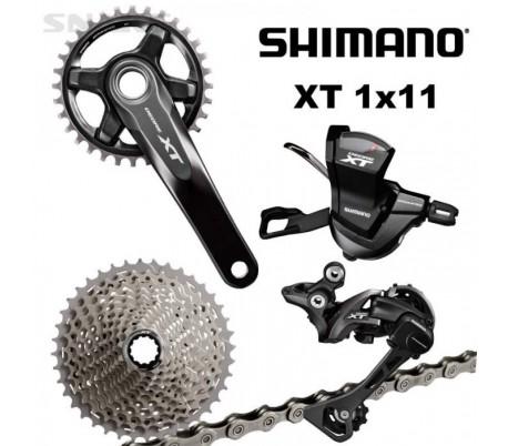 Gruppo completo Shimano XT 1 x 11 V