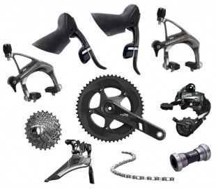 Gruppo completo Sram Force 50/34 11/28 ped. 172,5