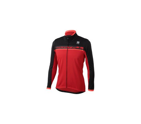Sportful Giro Softshell Jacket Nero/rossa